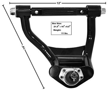 Picture of TUBULAR UPPER CONTROL ARM LH 64-72 : 1495N CHEVELLE 64-72