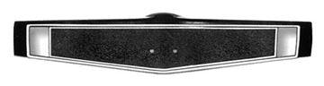 Picture of WHEEL CENTER SHROUD BLACK 69-70 : 3939760 CHEVELLE 69-70