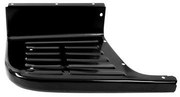 Picture of BED STEP LH 67-72 SHORT BED BLACK : 1104LF CHEVY PICKUP 67-72