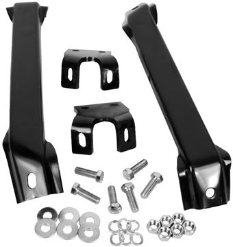 Picture of BUMPER BRACKET FRONT 55-57 4PCS : 1111W CHEVY PICKUP 55-57