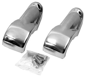Picture of BUMPER GUARD FRONT 63-66 PAIR : 1128 CHEVY PICKUP 63-66