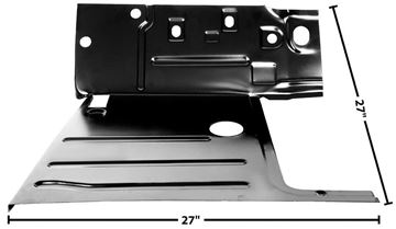 Picture of CAB FLOOR LH 47-55 : 1106AC CHEVY PICKUP 47-55