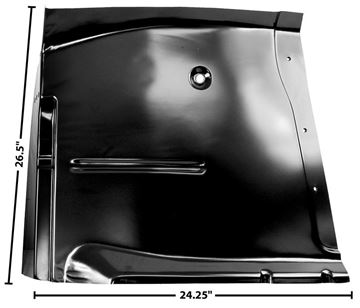 Picture of CAB FLOOR LH 60-62 : 1106AS CHEVY PICKUP 60-62
