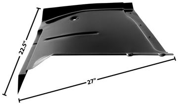Picture of CAB FLOOR LH 63-66 : 1106AU CHEVY PICKUP 63-66