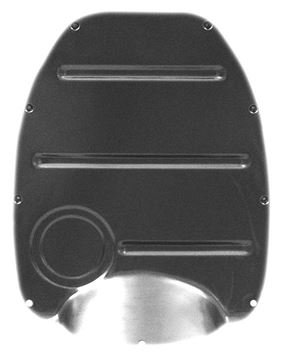 Picture of CAB FLOOR TRANSMISSION COVER (3 SPD : 1114K CHEVY PICKUP 55-59