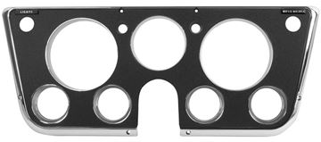 Picture of DASH BEZEL 69-72 BLACK W/CHROME : 1146C CHEVY PICKUP 69-72