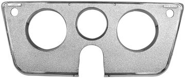 Picture of DASH BEZEL 69-72 CHROME 3 HOLES : 1146F CHEVY PICKUP 69-72