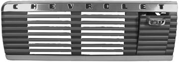 Picture of DASH SPEAKER GRILL W/ASH TRAY 47-53 : 1114I CHEVY PICKUP 50-53