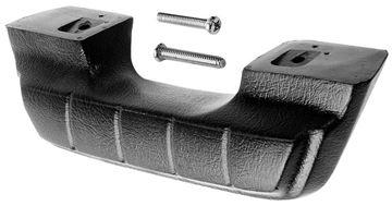 Picture of DOOR ARM REST 1964-66 BLACK : 1102K CHEVY PICKUP 64-67