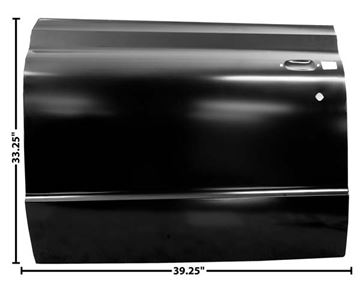 Picture of DOOR SKIN LH 67-72 : 1102AG CHEVY PICKUP 67-72