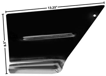 Picture of FOOT WELL PANEL LH 47-55 : 1114U CHEVY PICKUP 47-55