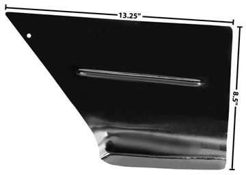 Picture of FOOT WELL PANEL RH 47-55 : 1114T CHEVY PICKUP 47-55