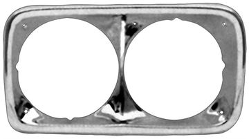 Picture of HEADLAMP BEZEL 69-72 GMC PAIR : 1115HA CHEVY PICKUP 69-72
