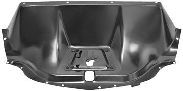 Picture of HOOD LATCH PANEL 47-54 BLACK CHEVY : 1121W CHEVY PICKUP 50-54