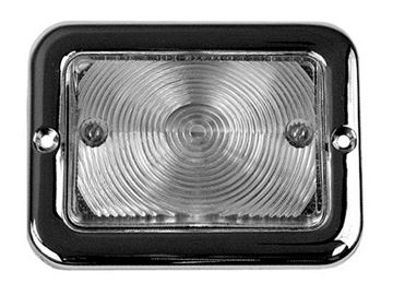 Picture of PARKING LAMP ASSY CLEAR 12V 54-55 : LP07 CHEVY PICKUP 54-55