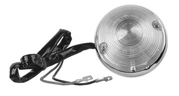 Picture of PARKING LAMP ASSY CLEAR 12V 55-57 : LP08 CHEVY PICKUP 55-57