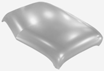 Picture of ROOF PANEL SKIN 47-53 : 1112NWT CHEVY PICKUP 47-53
