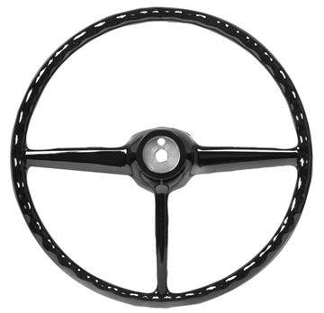 Picture of STEERING WHEEL 47-53 BLACK : SW20 CHEVY PICKUP 47-53