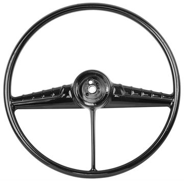 Picture of STEERING WHEEL 54-56 BLACK : SW21 CHEVY PICKUP 54-56