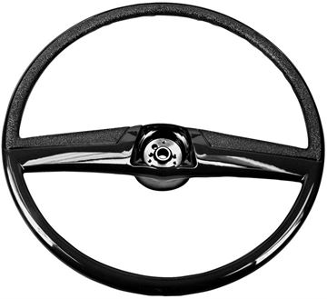 Picture of STEERING WHEEL 69-72 BLACK : SW25 CHEVY PICKUP 69-72