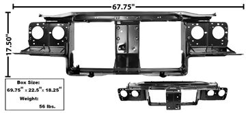 Picture of RADIATOR SUPPORT 1970 : 1875 CUTLASS 70-72