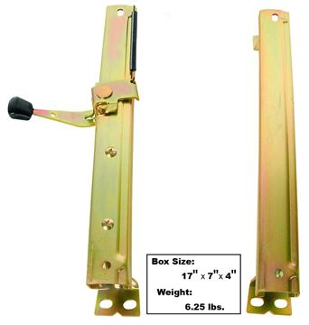 Picture of SEAT TRACK LH 68-72 2PC/SET : 1561 CUTLASS 68-72