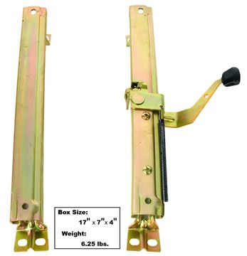 Picture of SEAT TRACK RH 68-72 2PC/SET : 1560 CUTLASS 68-72
