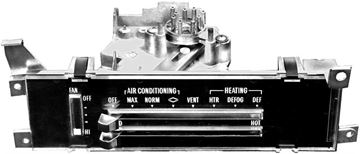 Picture of A/C & HEATER CONTROL 68-72 : 1456 EL CAMINO 71-72