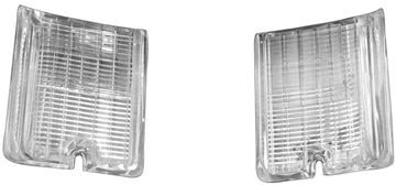 Picture of BACKUP LAMP LENS 66 PAIR EL CAMINO : TU66BN EL CAMINO 66-66