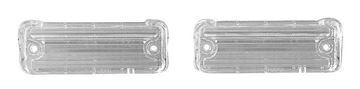 Picture of BACKUP LAMP LENS 68 PAIR : TU68N EL CAMINO 68-68