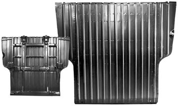Picture of BED PANEL COMPLETE 68-72 : 1428H EL CAMINO 68-72