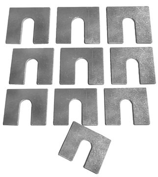 Picture of BODY SHIM 1.6MM 10 PCS/SET : 1000E EL CAMINO 64-72