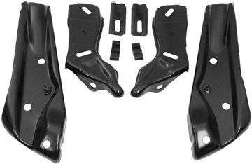 Picture of BUMPER BRACKET FR 71-72 8PCS/SET : 1411R EL CAMINO 71-72