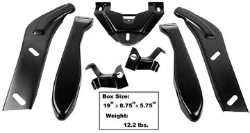 Picture of BUMPER BRACKET REAR 68-72 7PCS/SET : 1410 EL CAMINO 68-72