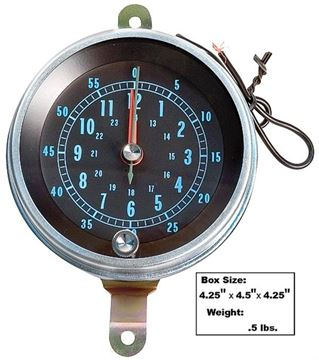 Picture of CONSOLE MOUNTED CLOCK 66-67 : 1400A EL CAMINO 66-67