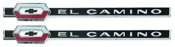 Picture of EMBLEM EL CAMINO QUARTER 64 PAIR : EM4815 EL CAMINO 64-64