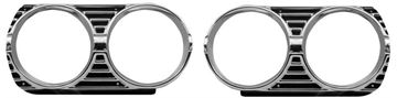 Picture of HEADLAMP BEZEL 1965 PAIR : M1384A EL CAMINO 65-65
