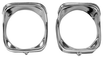 Picture of HEADLAMP BEZEL LH 1968 : M1389 EL CAMINO 68-68