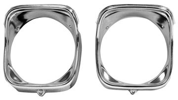 Picture of HEADLAMP BEZEL RH 1968 : M1388 EL CAMINO 68-68