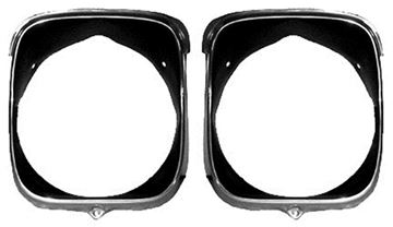 Picture of HEADLAMP BEZEL RH 1969 : M1396 EL CAMINO 70-70
