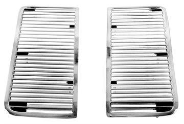 Picture of HOOD LOUVER 1969 PAIR : M1379 EL CAMINO 69-69