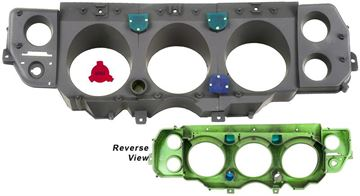 Picture of INSTRUMENT HOUSING KIT 70 SS 3PCS : 1452D EL CAMINO 70-70