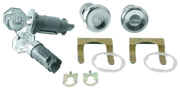 Picture of LOCK IGNITION,DOORS,GLOVEBOX 66-67 : CL-384 EL CAMINO 66-67