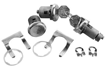 Picture of LOCK KIT IGNITION/DOOR : 142A EL CAMINO 64-64