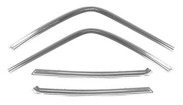 Picture of MOLDING DOOR FRAME 68-72 4PC/SET : M1429A EL CAMINO 68-72
