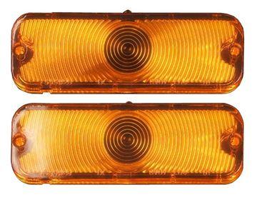 Picture of PARK LAMP LENS 66 PAIR : L66N EL CAMINO 66-66