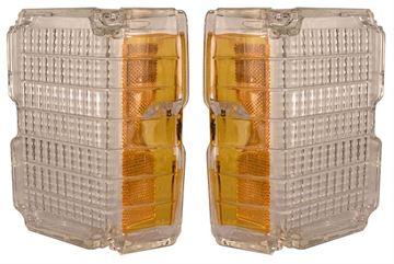 Picture of PARK LAMP LENS/CLEAR 72 EL CAMINO : L72BN2 EL CAMINO 72-72