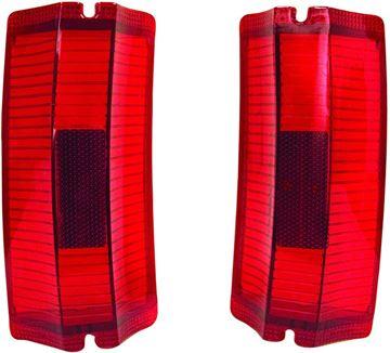 Picture of TAIL LAMP LENS 65 PAIR EL CAMINO : TL65BN EL CAMINO 65-65