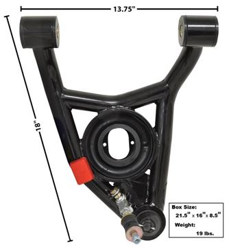 Picture of TUBULAR LOWER CONTROL ARM LH 64-72 : 1495Q EL CAMINO 64-72