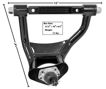 Picture of TUBULAR UPPER CONTROL ARM RH 64-72 : 1495M EL CAMINO 64-72